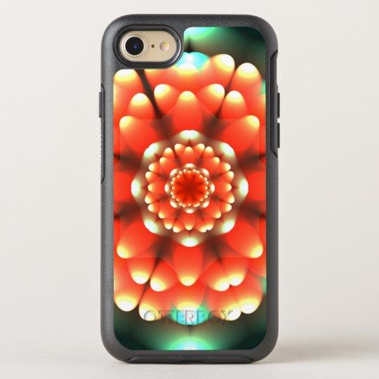 Mandala de la anémona funda OtterBox symmetry para iPhone 7