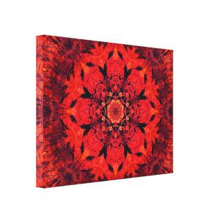 Mandala de la flor el | de Chakra el | Lotus de la Lienzo