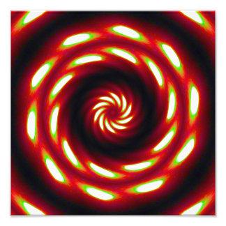 Mandala de la luna del fuego foto