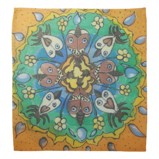 Mandala de la polilla bandana