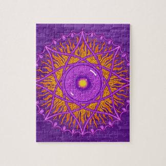 mandala de la púrpura del osholo rompecabeza