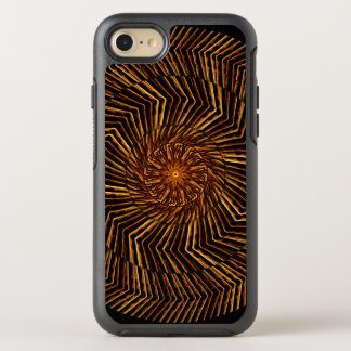Mandala de madera del disco funda OtterBox symmetry para iPhone 8/7