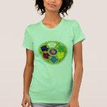 Mandala de Namaste - verde Camisetas