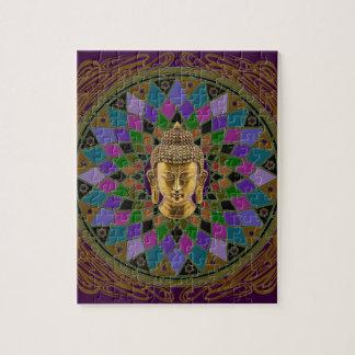 Mandala de OM Buda Rompecabezas Con Fotos