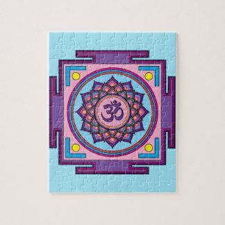 Mandala de OM Shanti OM Puzzle
