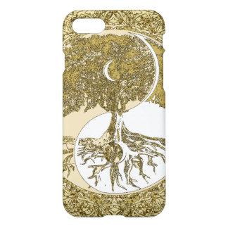 Mandala de oro Yin Yang Funda Para iPhone 7