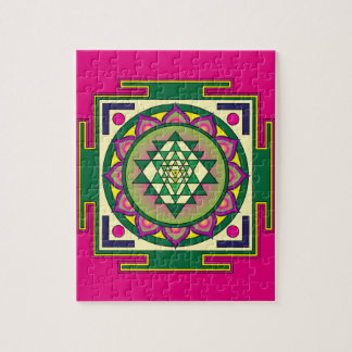 Mandala de Sri Yantra Puzzle