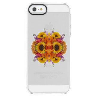 MANDALA DEL ALSTROEMERIA DE LOS GIRASOLES DE LOS FUNDA CLEARLY™ DEFLECTOR PARA iPhone 5 DE UNCOMMON