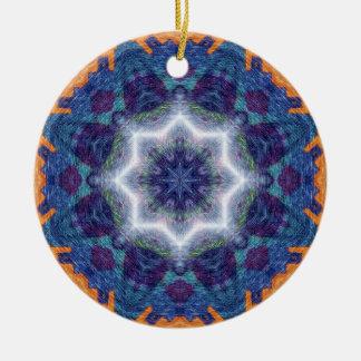 Mandala del arte del lápiz adorno de navidad