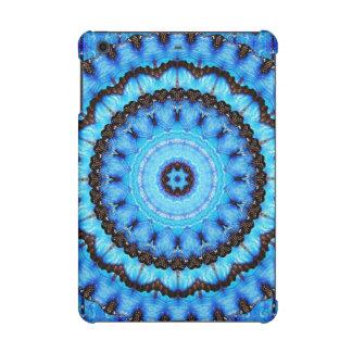 Mandala del azul de la mariposa