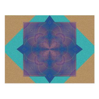 Mandala del caleidoscopio de Violeta Postal