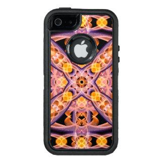 Mandala del calor funda OtterBox defender para iPhone 5
