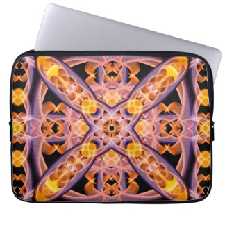 Mandala del calor funda para ordenador