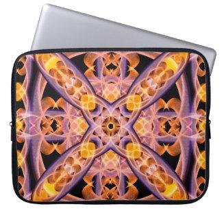 Mandala del calor funda para portátil