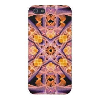 Mandala del calor iPhone 5 protector