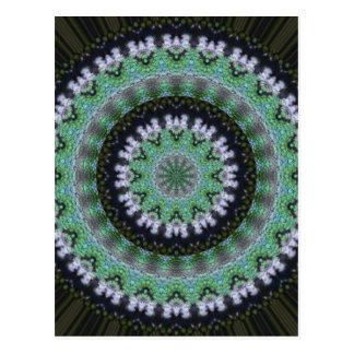 Mandala del colibrí postal