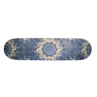 Mandala del cráneo tabla de skate