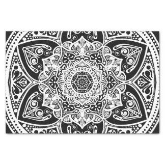 Mandala del cuervo papel de seda