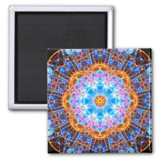 Mandala del Energy Star Imán