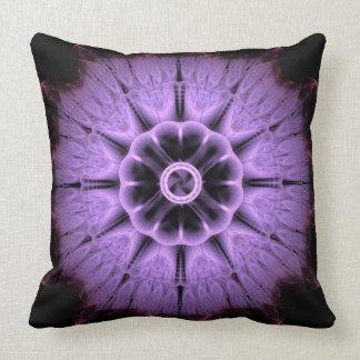 Mandala del fractal cojín decorativo