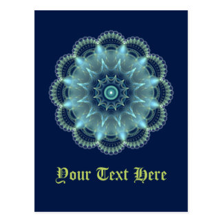 Mandala del fractal postal