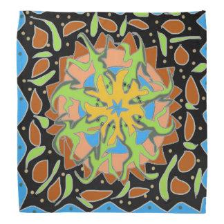 Mandala del lagarto bandana