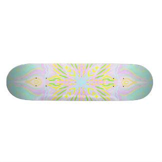 Mandala del pastel de la mariposa tablas de skate
