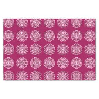 Mandala del vino papel de seda