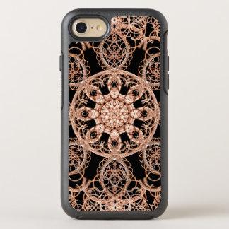 Mandala entrelazada del espacio funda OtterBox symmetry para iPhone 8/7