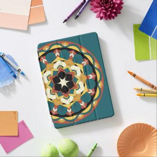 Mandala floral coloreada 060517_4 cubierta para iPad pro