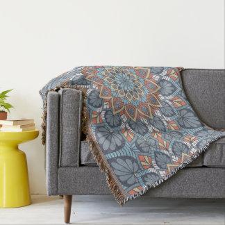 Mandala floral manta