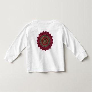 Mandala fucsia del caleidoscopio camiseta