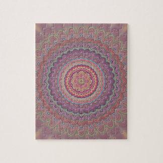 Mandala geométrica del Hippie Puzzle