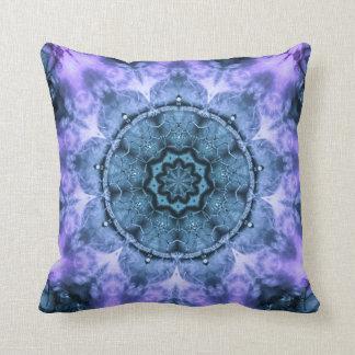Mandala gótica de la fantasía cojín decorativo