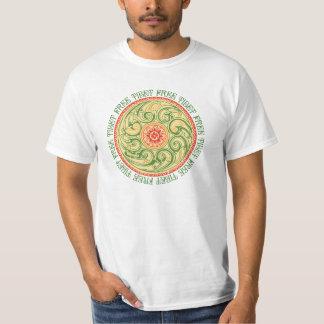 Mandala libre de Tíbet Camiseta