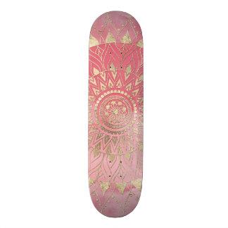 Mandala moderna del oro patin