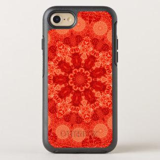 Mandala multiplicada por nueve de la estrella de funda OtterBox symmetry para iPhone 8/7
