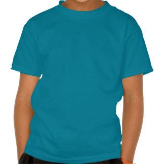 Mandala nacarada del olmo azul del deslumbramiento camisetas