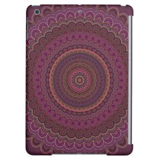 Mandala púrpura oscura