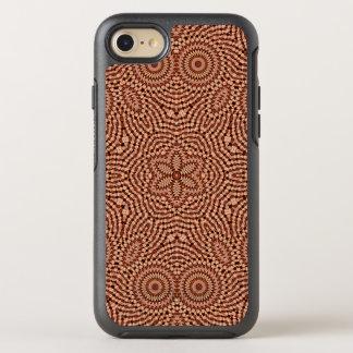 Mandala roja de la estrella funda OtterBox symmetry para iPhone 8/7