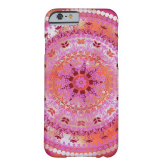 Mandala rosada funda barely there iPhone 6