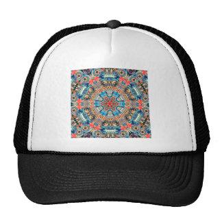 Mandala tribal abstracta gorras