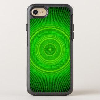 Mandala verde de la formación estelar funda OtterBox symmetry para iPhone 8/7