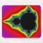 Mandelbrot original fijó 04 - fractal Mousepad Tapete De Ratones