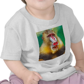 Mandrill, versión pintada camisetas