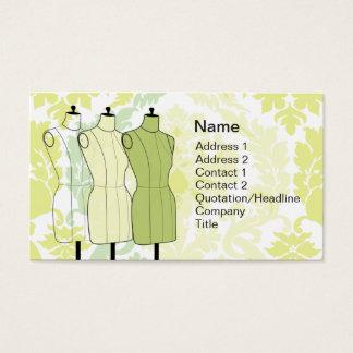 Manequins - negocio tarjeta de visita