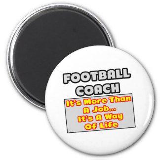 Manera del entrenador de fútbol… de vida imán para frigorífico