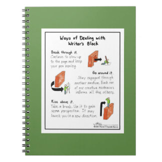 Maneras de tratar del cuaderno del verde del