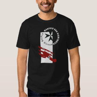manfred von richthofen baron rojo camisetas