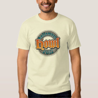 Manga corta para hombre del aullido 2012 camisetas